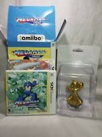 Mega Man Legacy Collection Collector's Edition Gold Amiibo Bundle Nintendo Wii
