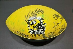 INCREDIBLY RARE AUTOGRAPHED 1999 Green Bay Packers Football Donald Driver #13 ++