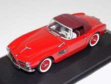 1/43 Minichamps BMW 507 Cabriolet Soft Top in Red
