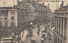 B85126 regent street and the piccadilly hotel car voiture   london uk