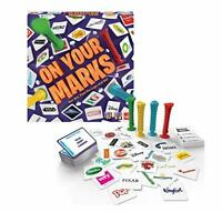 Goliath Games On Your Marks! boardgame Find the Logo Game NEW SEALED