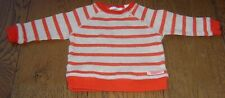 COUNTRY ROAD BABY BOYS RED STRIPED WINDCHEATER TOP  SZ  3 - 6 MONTHS