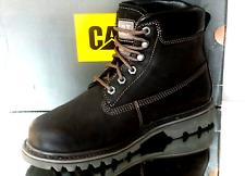 "Botas / Botas 6"" Cat Bruiser Hombre P710535 Black ; UK8; US9 270mm Nuevo"