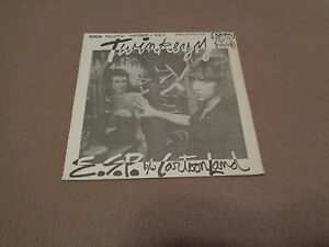 "The Twinkeyz – E.S.P. / Cartoon Land - GROK 7"" Colored Vinyl 45 - Insert - NM"