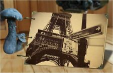 DIY 30Pages 26.8cm x 16.7cm Kraft PARIS TOWER Photo Album Wedding Scrapbook