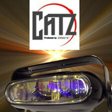 2 x Single Unit FET CATZ MSX 93 deg. Yellow Gold Fog Lights Fits PIAA 1500