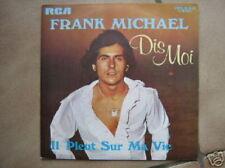 FRANK MICHAEL 45 TOURS BELGIQUE DIS MOI 4