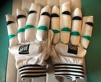 Cricket Batting GM for Boys White Gloves -GENUINE- For Tennis Ball- USA Seller