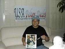 Professional Poker Players 18 Autographed 8x10 Photos Hand Signed Auto COA