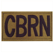 Vanguard ARMY PATCH: CBRN LETTERS - EMBROIDERED ON OCP