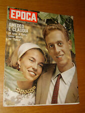 EPOCA 1964/722=AMEDEO D'AOSTA CLAUDIA=BARRY GOLDWATER=DONALD CAMPBELL BLUE BIRD=