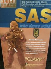 """DRAGON/DiD.CO/1/6TH scale figure  Elite Force  S.A.S WHO DARES WINS """" CLARK"""""""