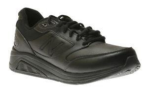 Men's NEW BALANCE MW928 V2 Walking leather sneaker shoe black 10.5 D (Medium)