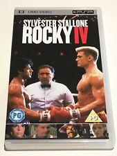 Rocky IV UMD PSP Rare UK FREE SHIPPING WORLDWIDE!