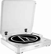 New listing Audio-Technica At-Lp60Wh-Bt Turntable