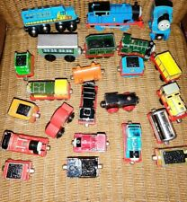 Lot of 23Thomas the Train and Friends Wooden Trains ENGINES TRAIN CARS Rail Cars