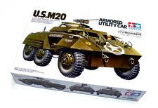 Tamiya Military Model 1/35 U.S. M20 Armored Utility Car Scale Hobby 35234