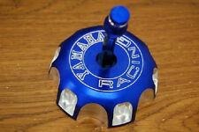 NEW BLUE CNC BILLET FUEL GAS CAP For YAMAHA YZ250 YZ125 YZ 250 125 02-10 I GC12