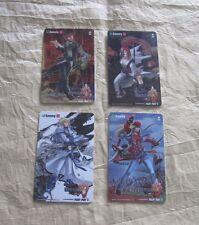 2004 SAMMY GUILTY GEAR ISUKA ID CARDS SET 3