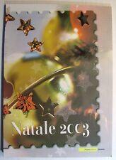 "2003  Italia  Folder  ""Natale 2003"""