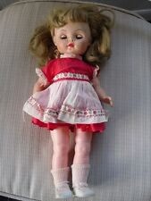 VINTAGE RARE ACE BABY DOLL 393 WITH DRESS SHOES OUTFIT CLOSING EYES