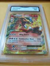 CHARIZARD EX 2016 POKEMON HOLO # 12 GRADED 10 L@@@K