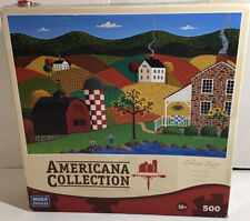 """Mega Puzzles Americana Collection 500 Pc Puzzle """"Indian Summer"""""""