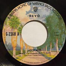 "Devo Azotalo / Volteate 7"" 45rpm Single Mexico 1980 New wave synth-pop warner ex"