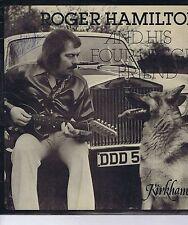ROGER HAMILTON & HIS FOUR FINGER FRIENDS LP SIGNED Kirkham KRS5001