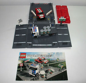 Lego Racers 8198 Ramp Crash With Fold Out Road  with Instructions