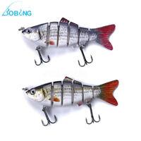 3D ESCHE CRANKBAIT ARTIFICIALE PESCA SPINNING MARE FIUME MINNOW FISHING