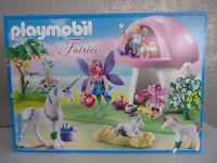 Playmobil Fairies 6055 Feenwäldchen mit Einhornpflege - Neu & OVP