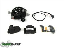 14-17 JEEP CHEROKEE TRAILER TOW WIRING KIT HARNESS 7&4 WAY CONNECTON NEW MOPAR