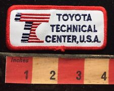 TOYOTA TECHNICAL CENTER USA Car / Auto Jacket Patch 75Y8