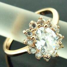 Handmade Cubic Zirconia Rose Gold Plated Fashion Rings