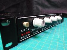 AMPLIFIER AMERICAN AUDIO SYSTEMS CRESCENDO HA6 4 CHANNEL 2 HEADPHONE Jacks