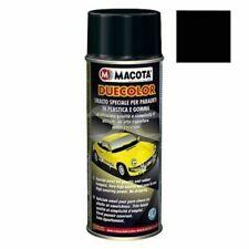 Smalto multiuso Nero 400ml Auto Moto manutenzione Paraurti verniciare MACOTA