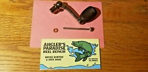 Pflueger reel repair parts (handle President / Trion spin cast READ DESCRIPTION)