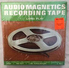 "Audio Magnetics Recording Tape 1/4"" x 900ft 5"" Reel Professional New Sealed"