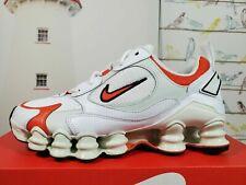 Nike Shox TL Nova White/orange AT8046-101 Women's Size 6.5-9.5