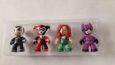 Mini Mezitz Gotham Villians Harley Joker Ivy Catwoman Mezco Toyz New Loose