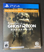 Tom Clancy's Ghost Recon Breakpoint [ GOLD Edition STEELBOOK ] (PS4) NEW