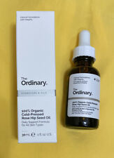 THE ORDINARY 100% Organic Cold Pressed Rose Hip Seed Oil 30ml, Unopened