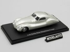 Autocult 1:43  Audi Berlin Rom Streamline coupe, silver, Germany, 1938