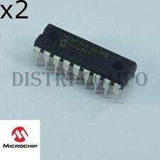 PIC16F84A-04P Microcontrôleur Microchip DIP-18 RoHS (lot de 2)