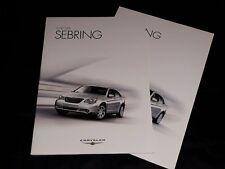 Chrysler Sebring prospekt/brochure/folder 2007