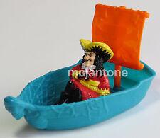 LOOSE McDonald's 1991 Hook Peter Pan CAPTAIN HOOK Pirate Boat Ship CAKE TOPPER