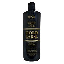 Tratamiento profesional de Keratina Chocolate Gold Label 1000ml Keratin Research