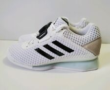 Adidas Leistung 16 II Weightlifting Squatting BOA White Men Shoes Sz 4 (F35790)