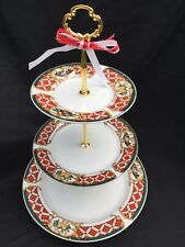 CHRISTMAS CAKE STAND 3 Tier Serving Tray